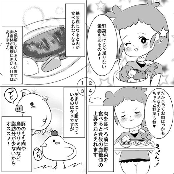糖尿病とお肉